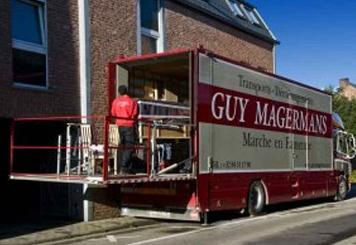 Un déménagement soigné avec Guy Magermans