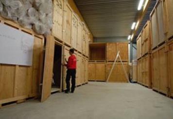 Service de garde-meubles pour particuliers - archivage de documents