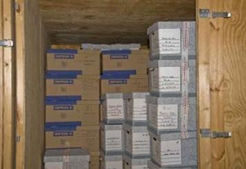 Service de garde-meubles pour entreprises - archivage de documents
